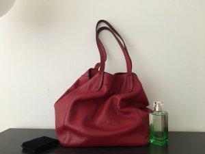 Tasche von coccinelle in wein-rot