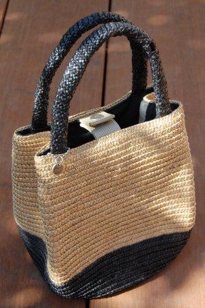 Esprit Bolso tipo cesta negro-crema