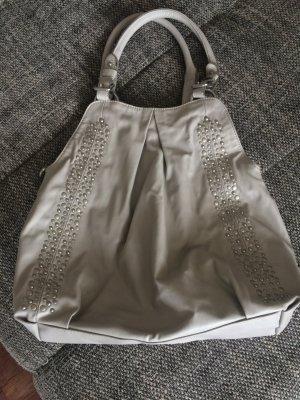 Tasche von Esprit in grau mit Nieten