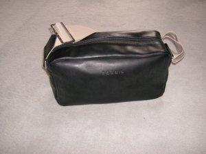 Tasche von FOSSIL schwarz/beige - kaum benutzt