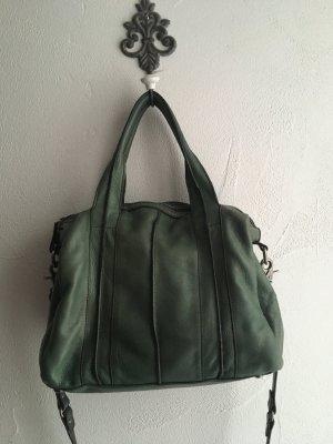 Tasche von FredsBruder in grün echtes Leder