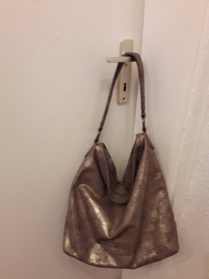 Fritzi aus preußen Shoulder Bag silver-colored-grey brown