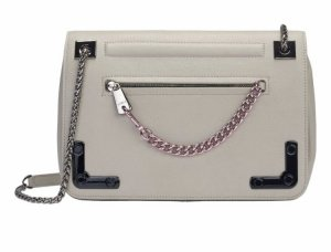 Furla Carry Bag grey leather