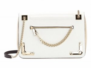 Furla Carry Bag natural white leather