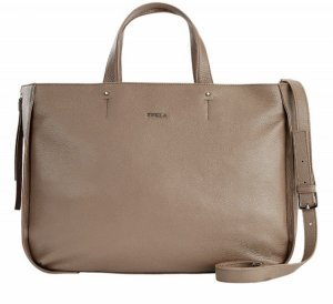 Furla Carry Bag camel leather