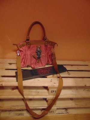 Tasche von Georg Gina & Lucy in rosa/lachs/sandbraun