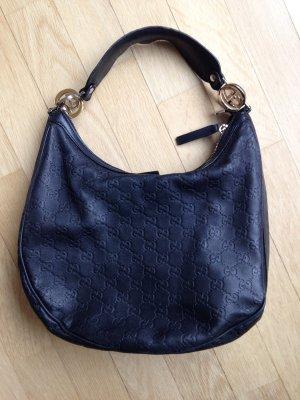 Tasche von Gucci, schwarzes Leder