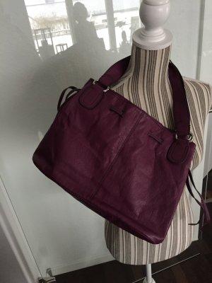 Tasche von H&M in Lila / Berry