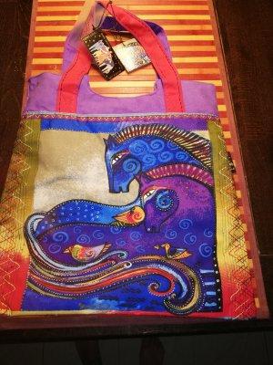 Bolso de tela multicolor