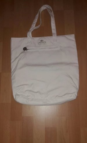 Lacoste Bolso barrel blanco