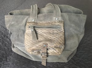 Liebeskind Berlin Carry Bag grey-grey brown suede