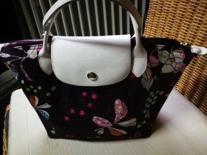 Longchamp Frame Bag multicolored textile fiber