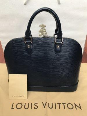 Louis Vuitton Sac à main bleu foncé