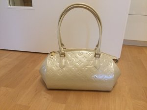 Louis Vuitton Sac blanc cassé cuir