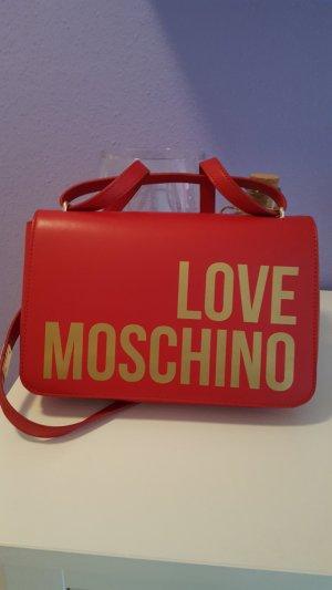 Love Moschino Borsa con manico rosso