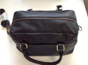 Tasche von Marc O'Polo in schwarzem Leder, NEU