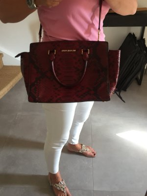 Michael Kors Carry Bag carmine-bordeaux leather
