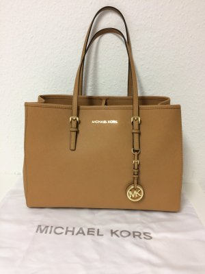Michael Kors Carry Bag sand brown leather