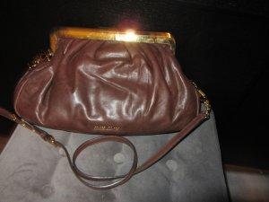 Tasche von Miu Miu aus braunem Leder