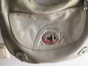 Tasche von Picard in hellgrau echtes Lackleder