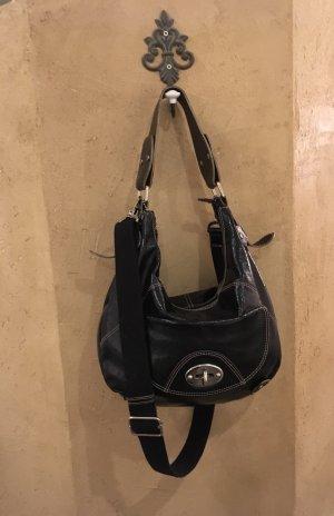 1f45025a7c1e2 Tasche von Picard in schwarz aus echtem Lackleder