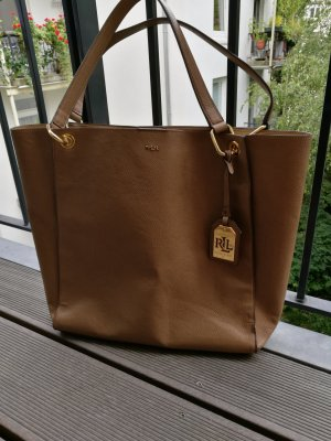 Lauren by Ralph Lauren Carry Bag gold-colored-light brown