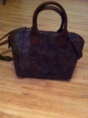 Tamaris Bowling Bag bronze-colored-brown imitation leather