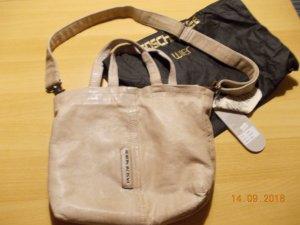 Taschendieb Bolsa de hombro color oro Cuero