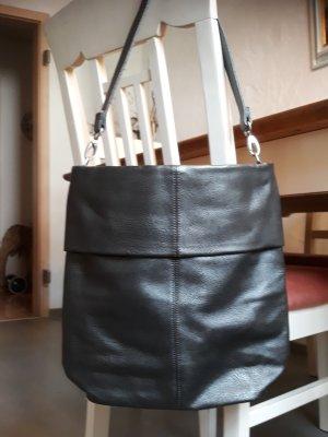 Tasche von zwei in Metallic Grau