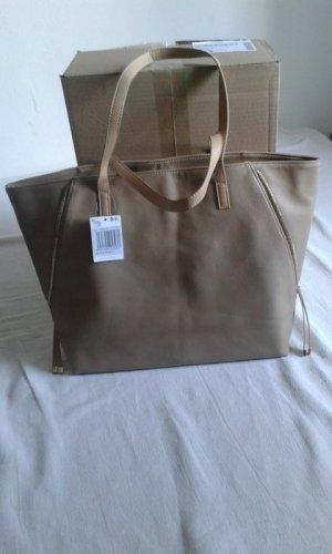 Tasche XXL Beige MANGO Damen Shopper