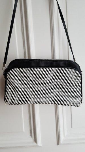 Tasche Zara schwarz-weiß