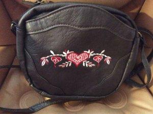 Traditional Bag brown imitation leather