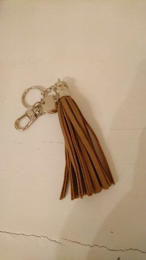 Hallhuber Key Chain brown-cognac-coloured