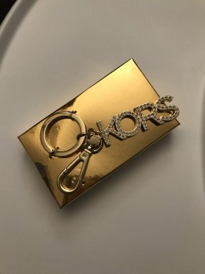 Michael Kors Porte-clés doré-blanc