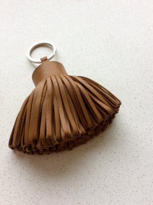 Hermes Paris Key Chain bronze-colored