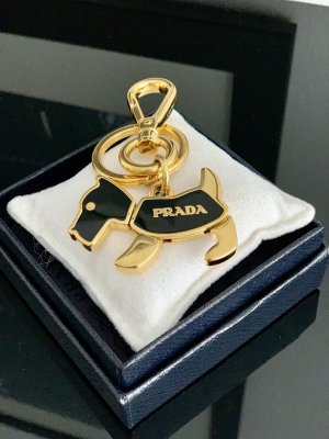 Prada Key Chain black-yellow