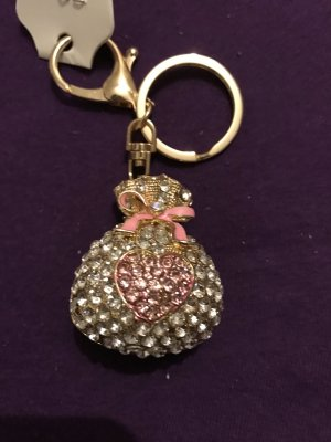 Key Chain pink-gold-colored