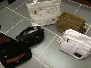 Taschenpaket 5 Taschen Shopper Handtasche Neu mit Etikett MC