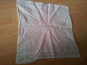 Fazzolettino da tasca bianco