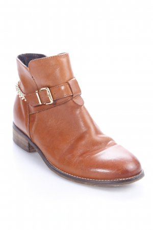 Taupage Ankle Boots braun Casual-Look