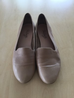 Taupage Leder Slipper beige Loafer 39