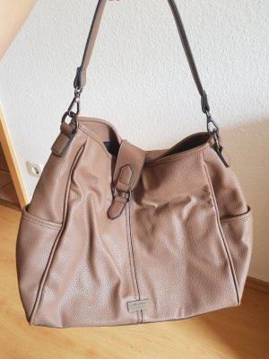 Taupe farbene Handtasche