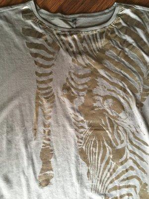 Taupe farbenes Shirt Größe 40
