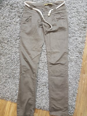Chinos taupe-grey brown