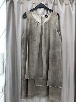 BC Collection Robe chiffon argenté polyester