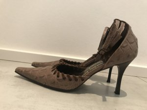 Ashley Brooke Zapatos marrón grisáceo