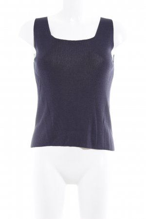 Taviani Knitted Top dark blue casual look