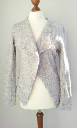 Tchibo / TCM Wool Blazer light grey-grey