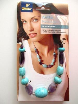 Tchibo - Halskette Kette Necklace Schmucksteine