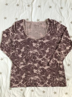 Tchibo / TCM Pyjama or rose-gris lilas